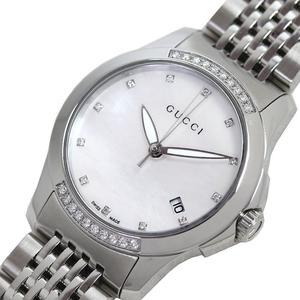 Gucci G-Timeless Quartz Stainless Steel Women's Watch