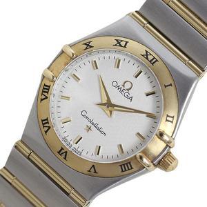 Omega Constellation 1272.30 Quartz K18ss White Ladies Watch