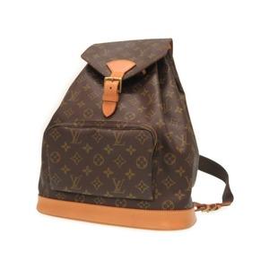 Louis Vuitton Monogram Montsuris Gm M51135 Backpack Day Bag Men's 0660