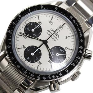 Omega Speedmaster Marui Limited Model 3539.31 Self-winding White × Black Men's Chronograph Watch