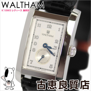 Waltham Waltham Ladies Watch K18wg 9530075 V1 60401 Quartz Qz