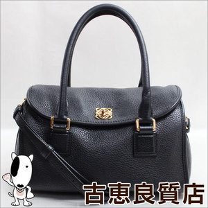 Loewe Loewe 329.84. Alamo Leather Handbag 2 Way Shoulder Bag