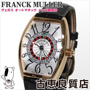 Franck Muller Frank Muller Franckmuller 5850 Vegas K18 Men's Watch Roulette