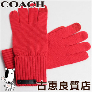 Coach Gloves Xs / S Red