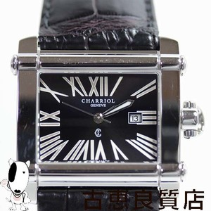 Philippe Charriol Charriol Cchl Actor Mens Watch Quartz Qz 33 Mm