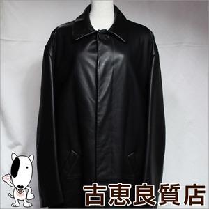 Loewe Jacket Sheep Leather Spain Made Men's 52 Long Coat Black 126300 713570