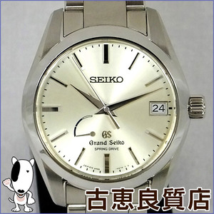 Grand Seiko Seiko Grand Men's Watch Automatic Spring Drive Power Reserve Sbga 083 9 R 65 - 0 Bh