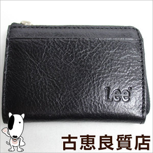 Lee Coin Case Purses Black 0520236 Bk Italian Leather Pass Included