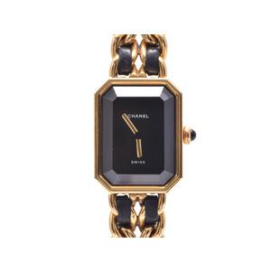 Chanel (Chanel) Premiere M Size Gp Leather Quartz Watch