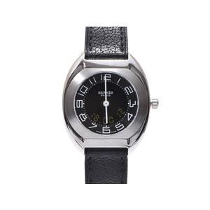Hermes (Hermes) Espace Ss Leather Quartz Watch