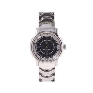 ブルガリ ソロテンポ29 SS 黒文字盤 クオーツ BVLGARI  腕時計