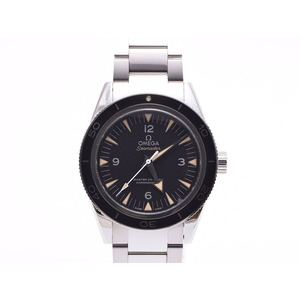 Omega Seamaster 233.30.41.21.01.001 Black Character Back Scales Ss Watch