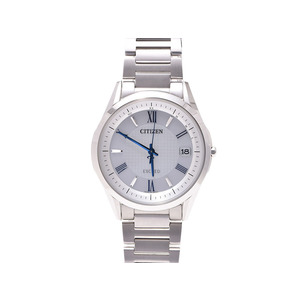 Citizen Radio Clock Watch Exceed Eco Drive As 7090-69 A Super Titanium Case Gallagher