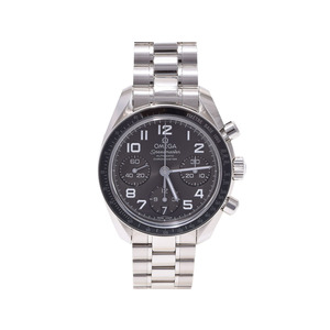 Omega Speed Master Date 324.30.38.40.06.001 Gray Dial Ss Watch