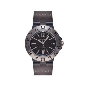 ブルガリ ディアゴノ チタニウム TI ラバー 自動巻 BVLGARI   腕時計