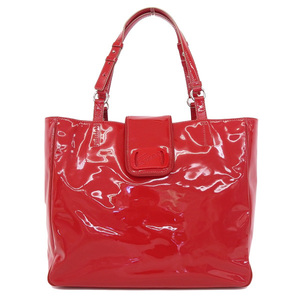 Salvatore Ferragamo Vara Women's Leather Tote Bag Red