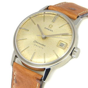 Omega Seamaster Mechanical Stainless Steel Men's Vintage Watch 136.011