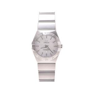 Omega Constellation Brush 123.10.24.60.05.001 Shell Dial Ss Quartz Watch