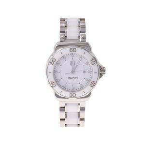 タグホイヤー フォーミュラ1 WAH1315 12Pダイヤ SS セラミック 白文字盤 TAG Heuer  腕時計
