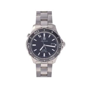 タグホイヤー アクアレーサー キャリバー5 WAK2110 SS 黒文字盤 TAG Heuer  腕時計