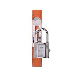 エルメス(Hermes)  ケリーウォッチ KE1.232 シェル ベゼルダイヤ SS I刻印 HERMES  腕時計