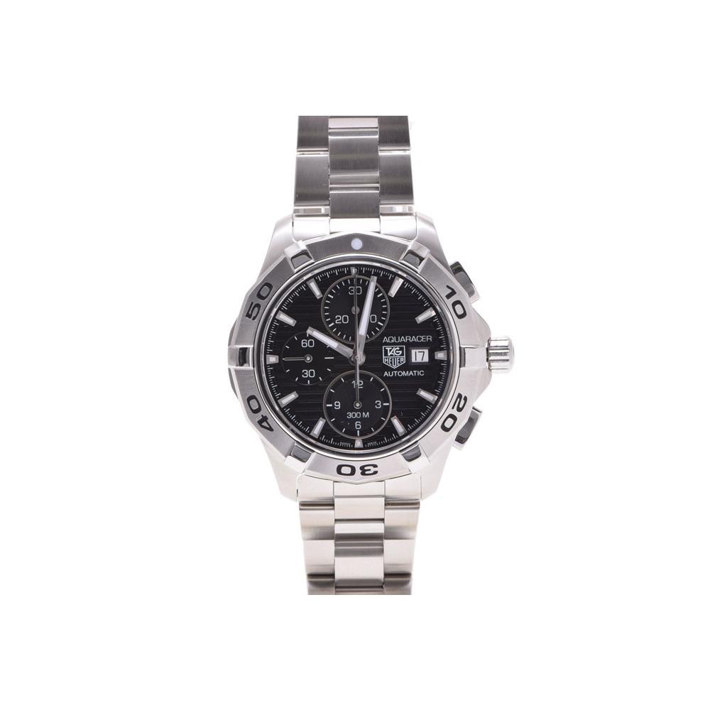 タグホイヤー アクアレーサー クロノ CAP2110 SS 黒文字盤 TAG Heuer   腕時計