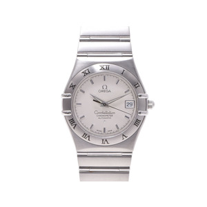 Omega Constellation Date 1502.30 Ss White Dial Wrist Watch