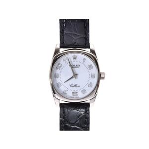 ロレックス チェリーニ 6229/9 A番 WG クォーツ 箱 日ロレ ROLEX  腕時計
