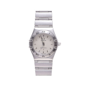 Omega Constellation Ss Ivory System Dial Quartz Watch