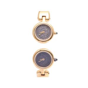 Fendi 620l Gp Brown Dial Quartz Clock Watch