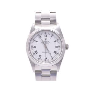 ロレックス エアキング14000 A番 SS 白文字盤 箱 ギャラ 時計 ROLEX   腕時計