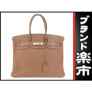 Hermes Hermes Birkin 35 Togo Handbag Brown □ N Engraved Bag
