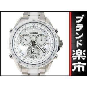 Seiko Seiko Astron Mens Gps Solar Watch 8x82-0ag0 Silver Dial