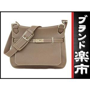 Hermes Hermes Gipsiere 34 Shoulder Bag Etope □ R Engraved