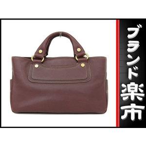 Celine Celine Boogie Bag 2 Room Handbag Bordeaux