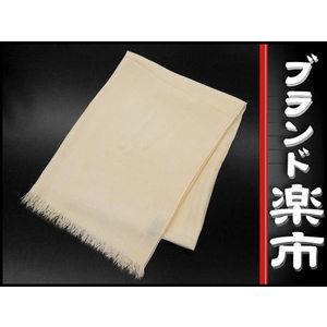 Hermes Hermes Cashmere × Wool Shawl Ivory