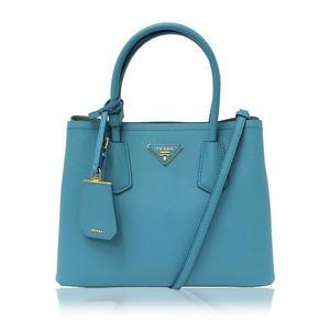 Prada Prada 2 Way Handbag 1 Bg 887 Light Blue (Turchese / Acq) Shoulder Bag Women's