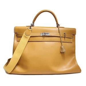 Hermes Kelly 50 Vash Natural E Engraved Handbag Bag