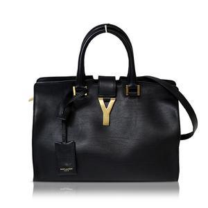Saint Laurent Petit Cavus 2way Handbag 311210 Black Ladies' Bag