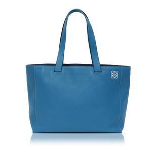 Loewe East West Shopper Tote Bag 308.20.k86 Blue Ladies