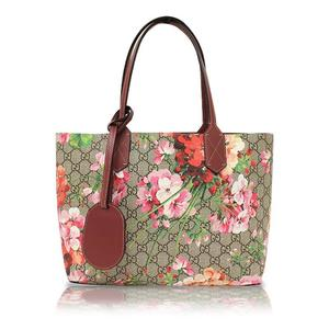 Gucci Gg Blooms River Ribble Tote Bag 372613 Antique Rose Women's