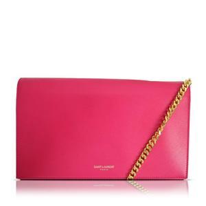 Saint Laurent Shoulder Wallet 377831-b9l0j Pink Ladies Bag