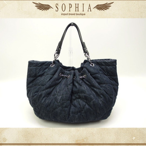 Chanel (Ccel) Denim Tote Bag A46887