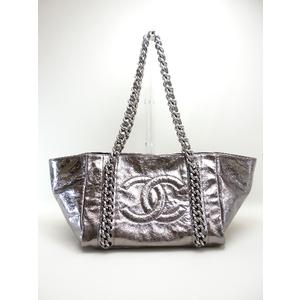 Chanel (Spring / Summer 2009) Metallic Calfskin Tote Bag A46872
