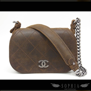 Chanel (Wild Stitch Flap Bag Brown Bag)