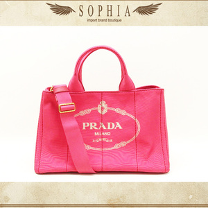 Prada (Prada) Kanapa 2 Way Tote Bag Pink