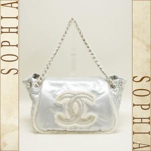 Chanel Cc Mark Stitch Flap Bag 10a