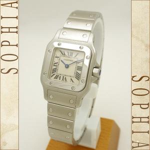 Cartier (Cartier) Santos Garve Watch Sm Quartz Wrist