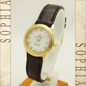 Omega (Omega) De Bill Prestige Women's K18yg Wrist Watch
