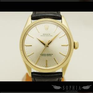 Rolex (Rolex) Oyster Perpetual Ref. 1005 Men's Wrist Watch